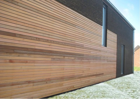 Construction d'une maison très basse énergie en ossature bois