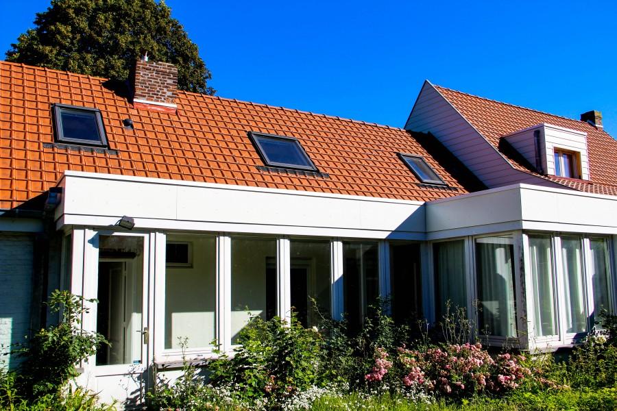 Nouvelles toitures en pente et plate